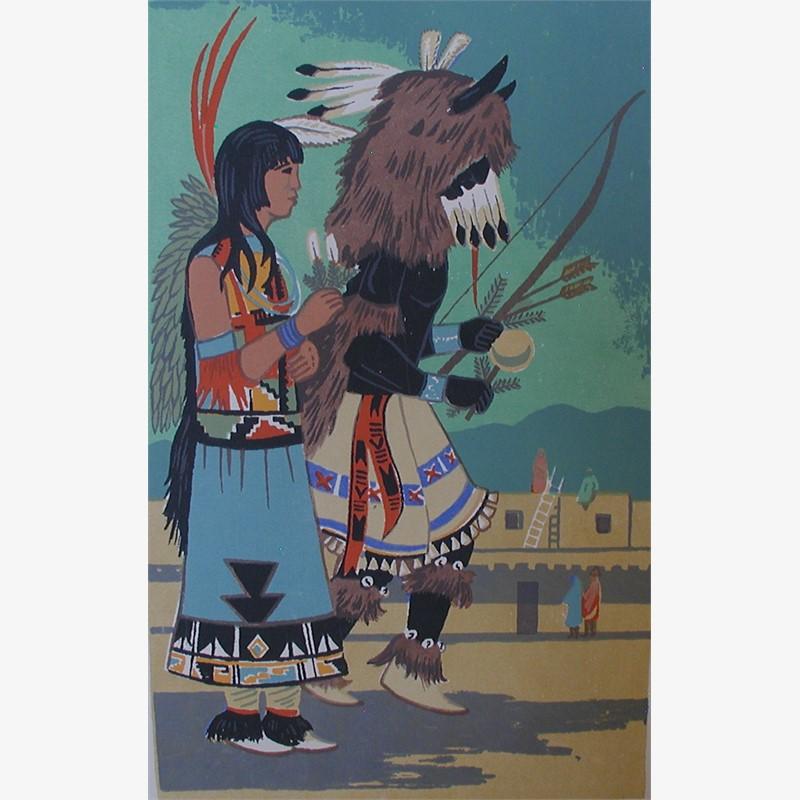 Buffalo Dance (126/200)
