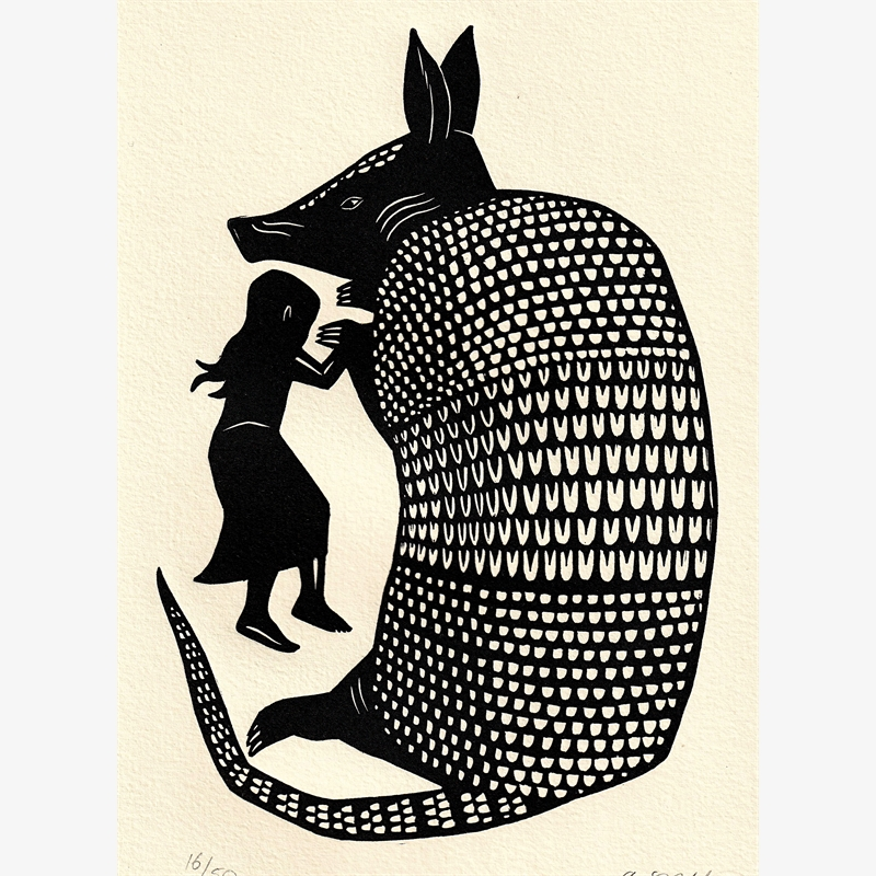 Untitled (Niña Armadillo) (16/50), 2019