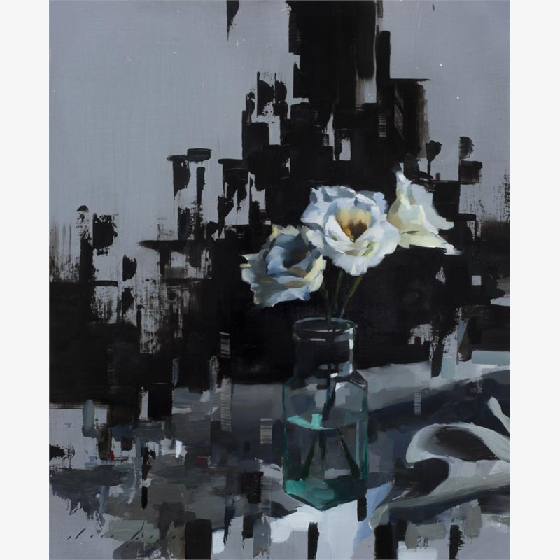 Lisianthus and Black, 2018
