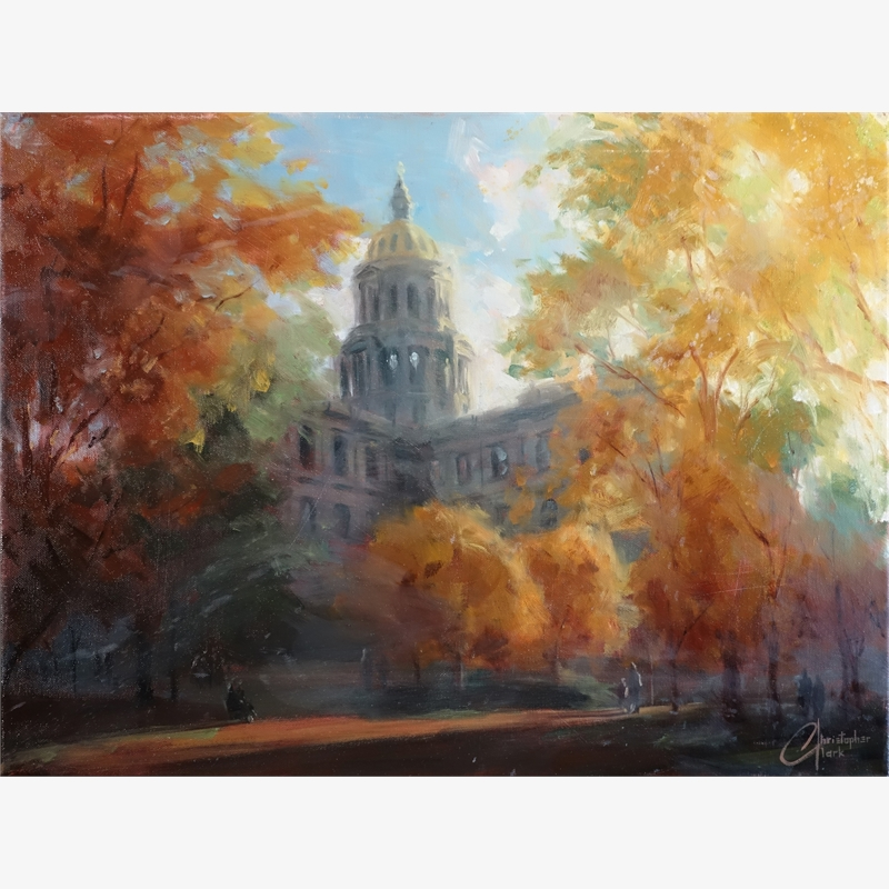 Denver Capitol Building in Autumn