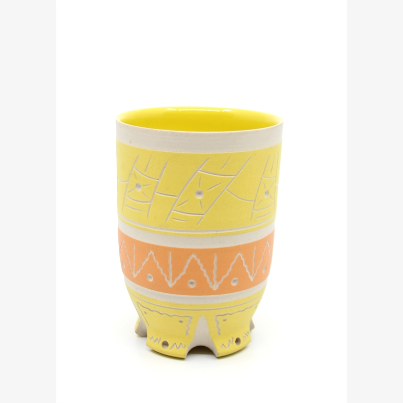 Yellow & Orange Cup, 2019