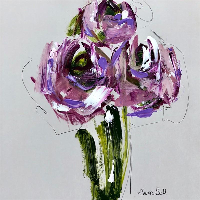 Lilac Roses I, 2018