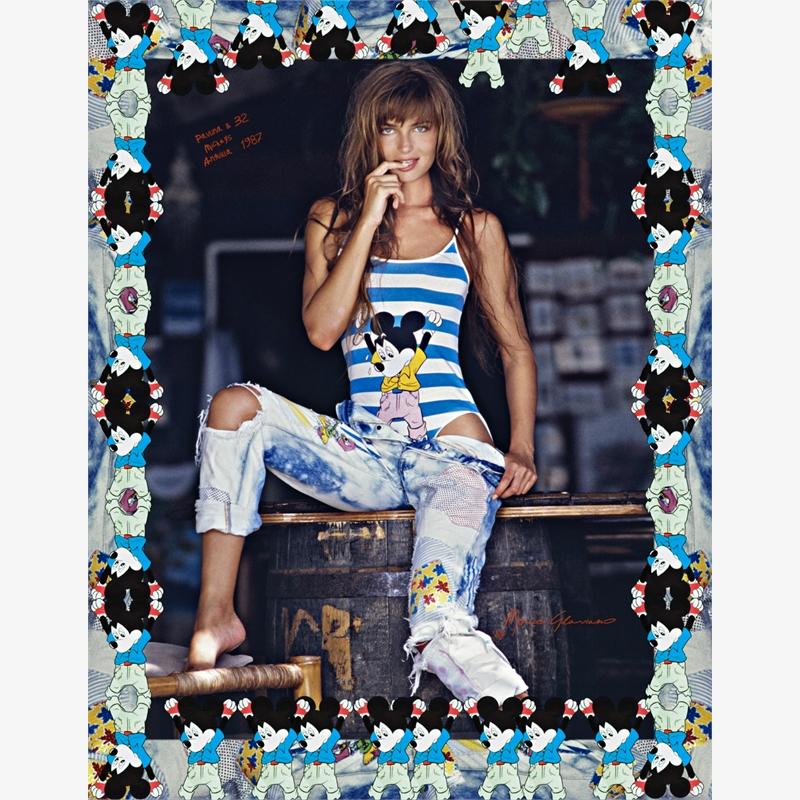 Paulina and 32 Mickeys, Anguilla (1/7), 1987