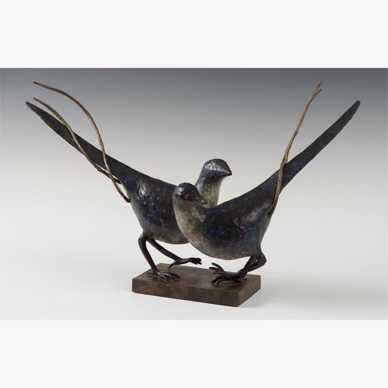 Pair of Magpies, unique (1/1)