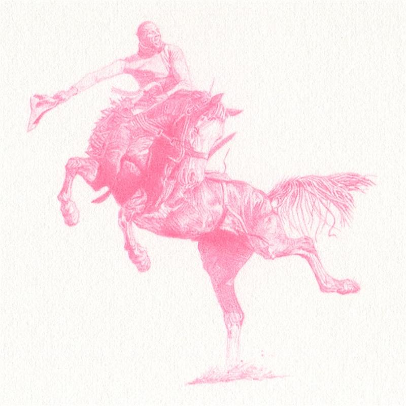 Untitled (Bronc Rider AOP-3752), 2020