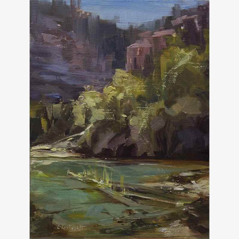 Plein Air at Emerald Lake, 2018