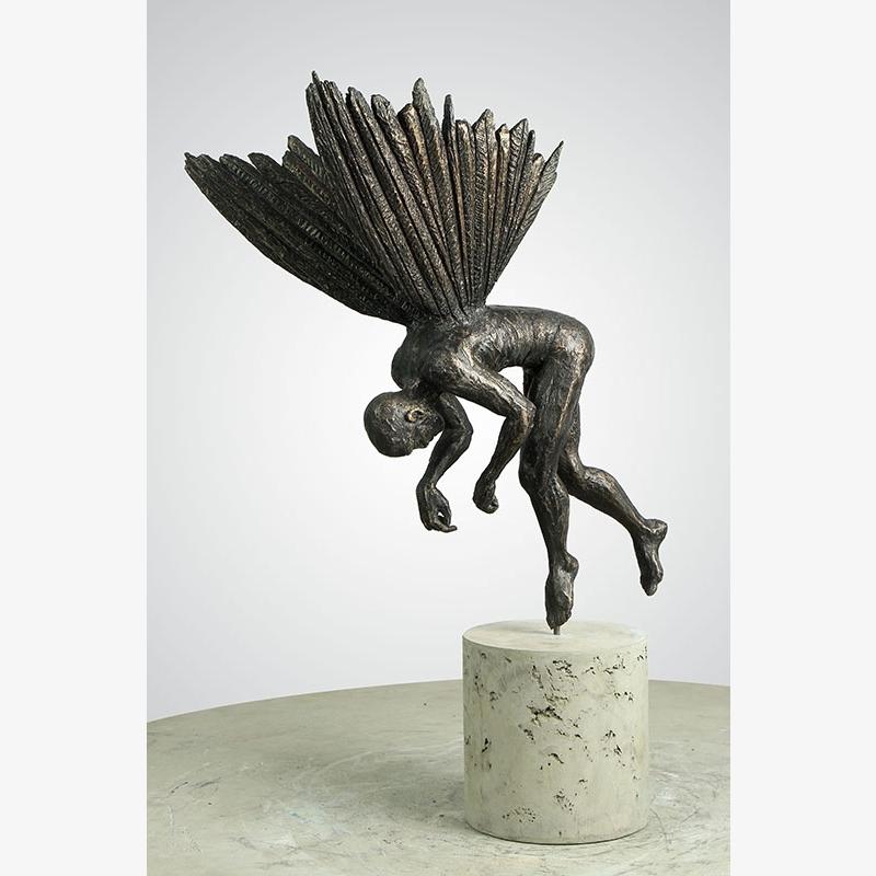 Crouching Angel Small, 2019