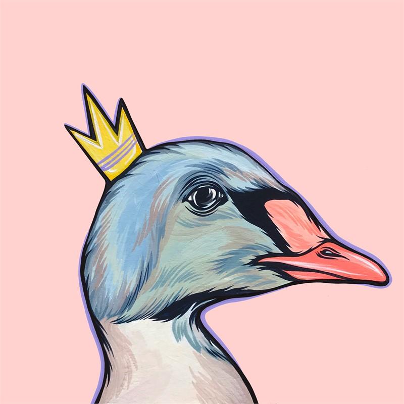 Mighty Ducks Purple Crown