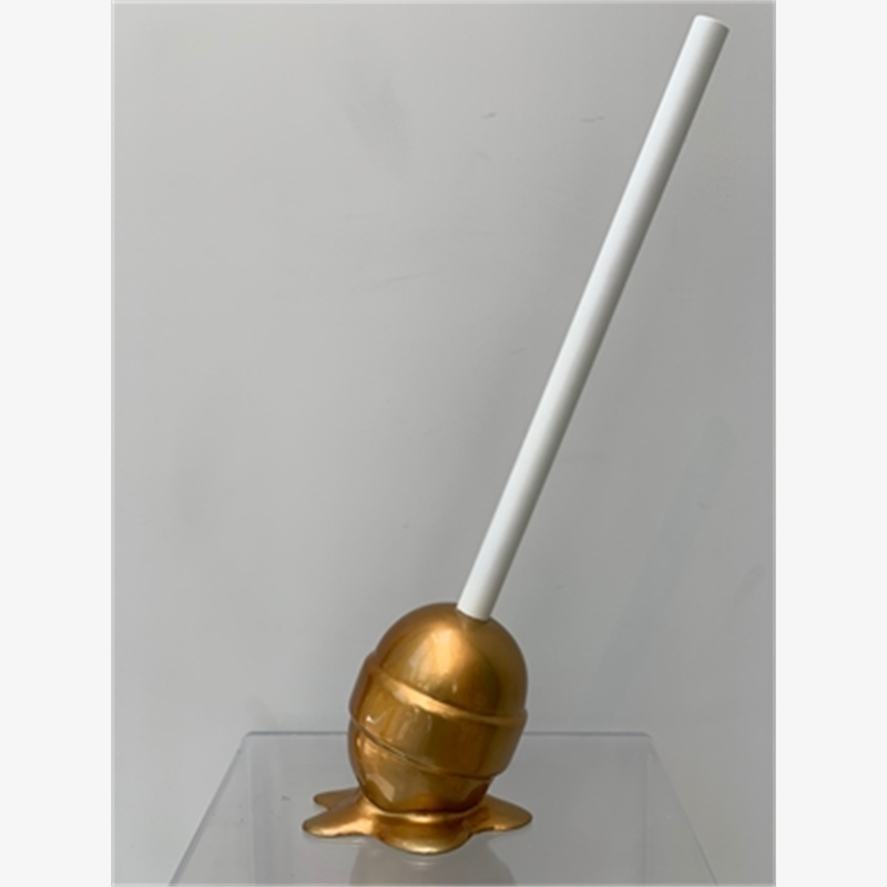 """The Sweet Life"" Gold Lollipop - Small"