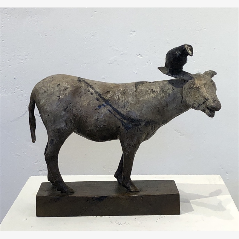 Burro with Crow, 2019