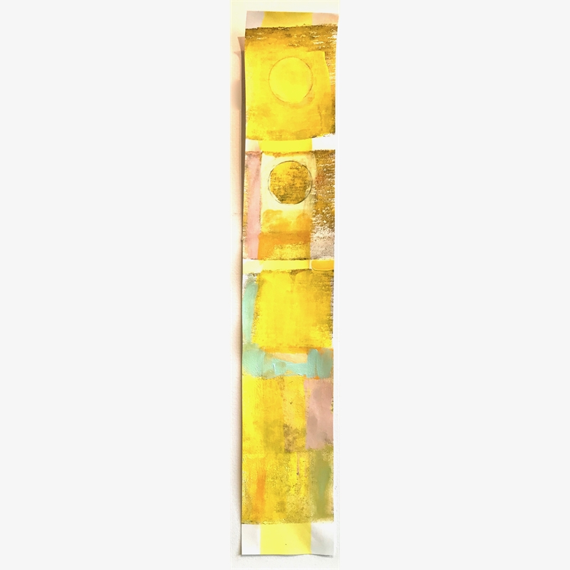 Small Graft 19: Rise Up, Yellow, 2019