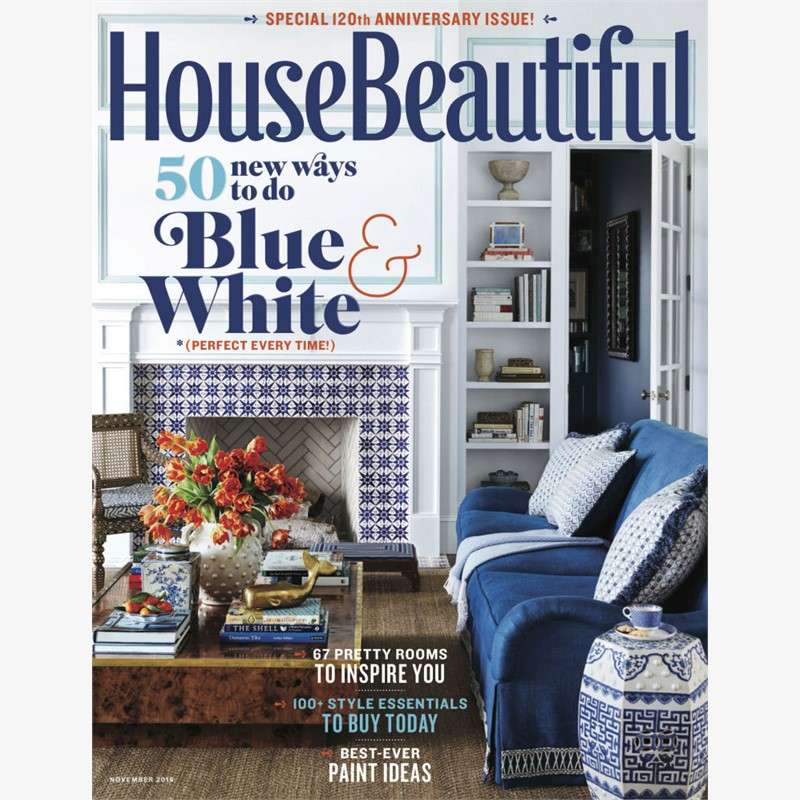 House Beautiful, November 2016, Jacques Jarrige