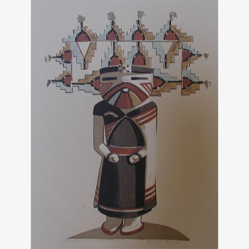 Hopi Indian Butterfly Kachina