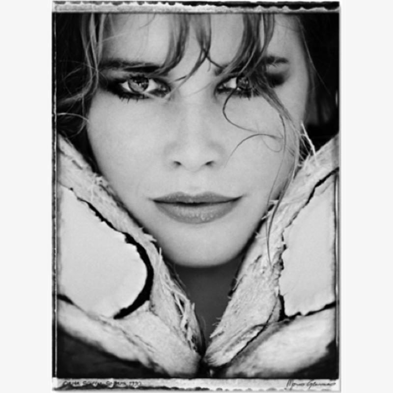 Claudia Schiffer  by Marco Glaviano