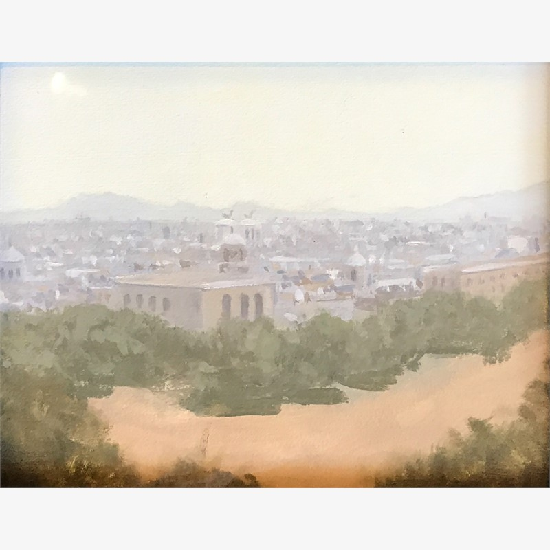 Overlooking Rome - Study by Destiny Bowman