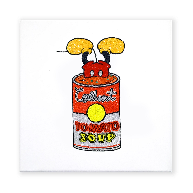 Mickey soup can , 2016
