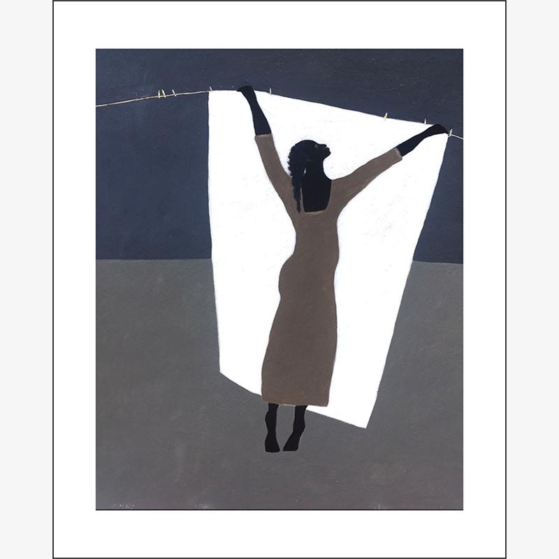 Laundry/Hanging The White Sheet 4/25, 2019