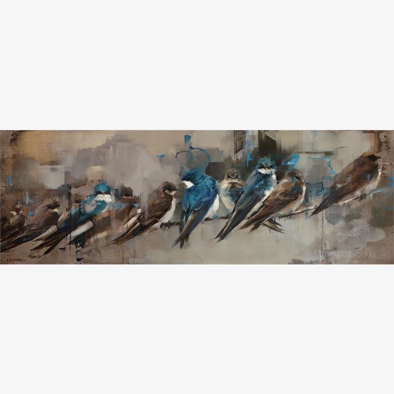 A Flight of Swallows