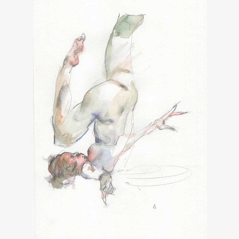 Watercolor Gesture 01, 2018