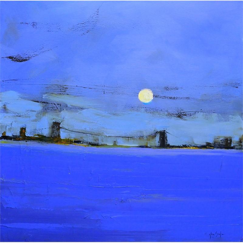 Moonlight on Blue