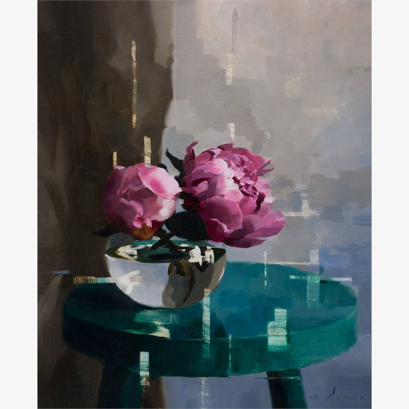 Peonies in the Afternoon by Jon Doran