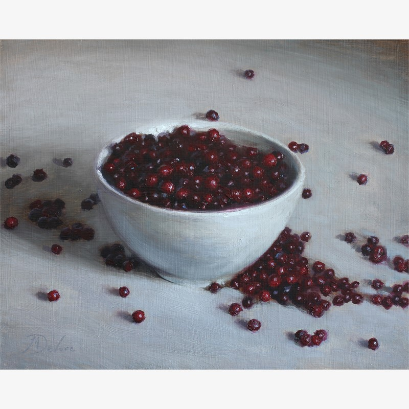 Lingonberries by Michael DeVore