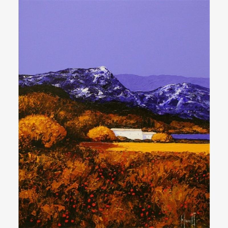 Calme En Haute Provence                               by Patrick Reault