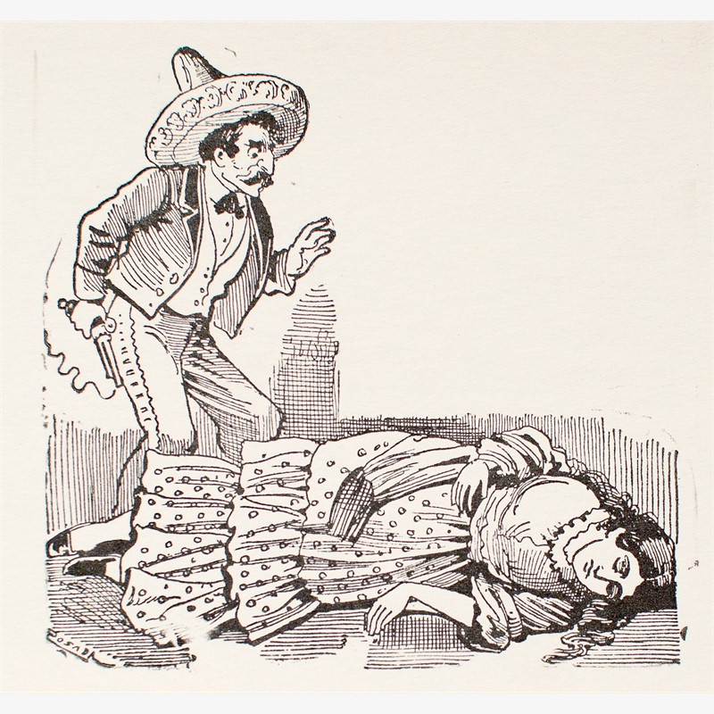 El Crimen de la Tragedia de Belen Galindo, ca. 1880-1910