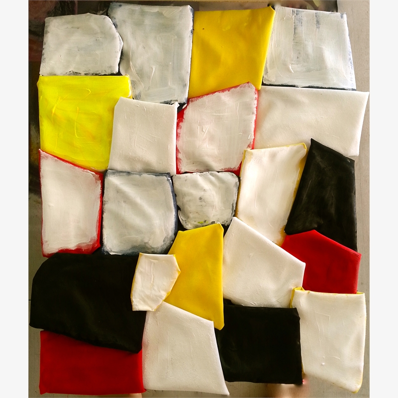 'Yellow, red and black', 2014