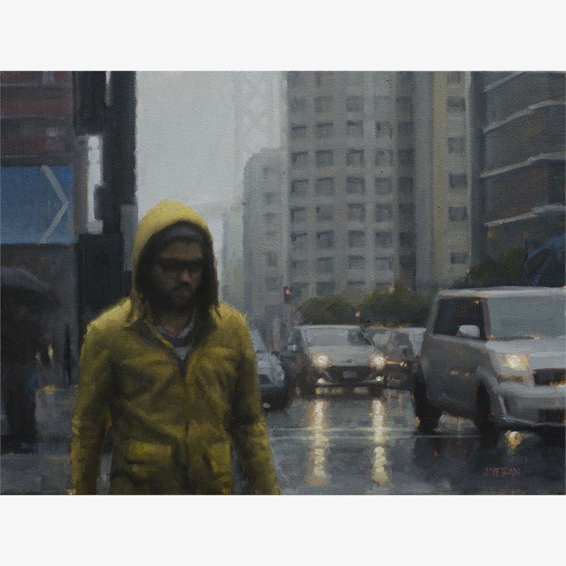 Yellow Raincoat Study