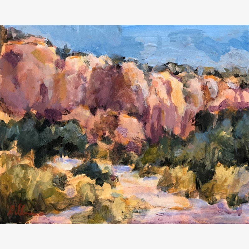 Hiking in Ghost Ranch, 2018