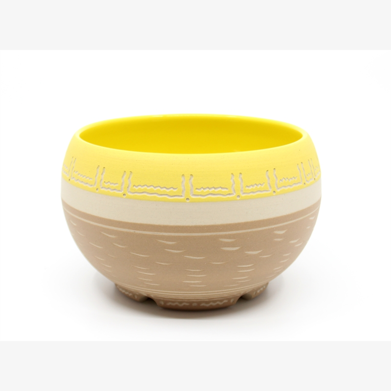 Cinnamon & Yellow Bowl, 2019