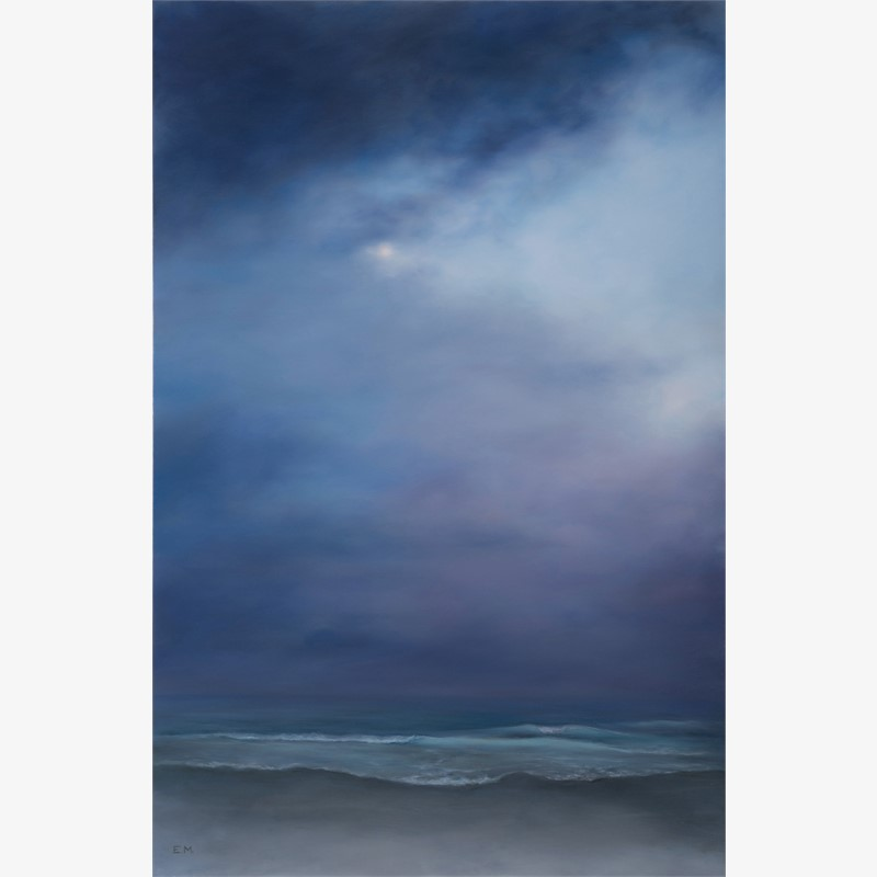 Seascape in Lavender