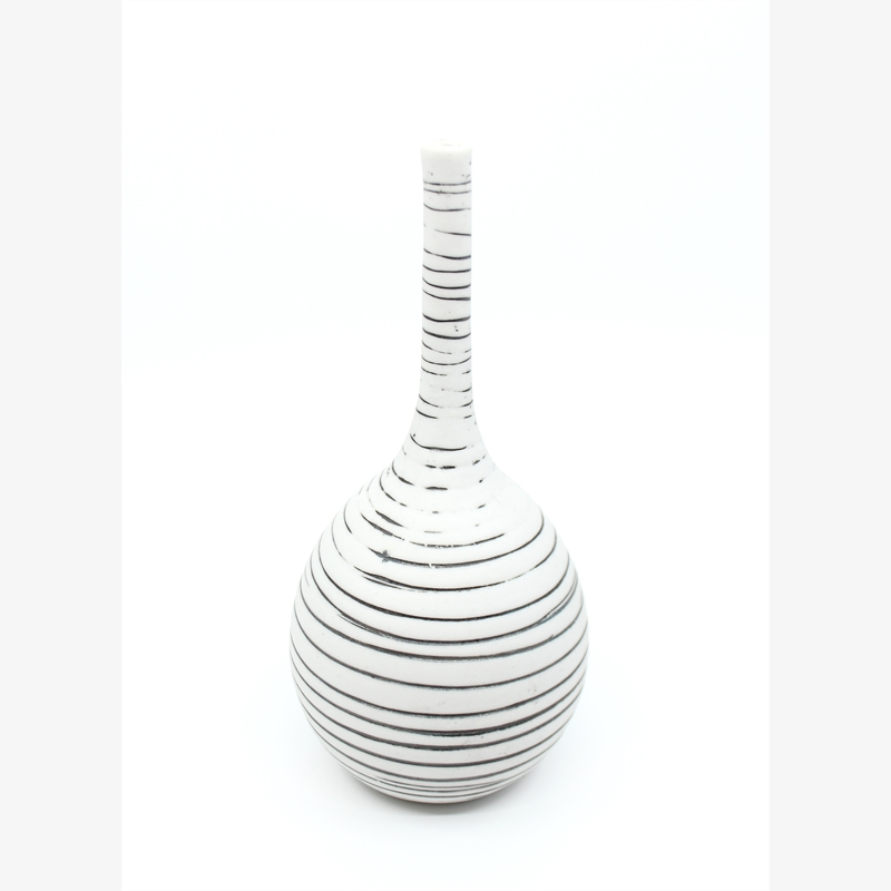 Small Vase with Black Lines II, 2019