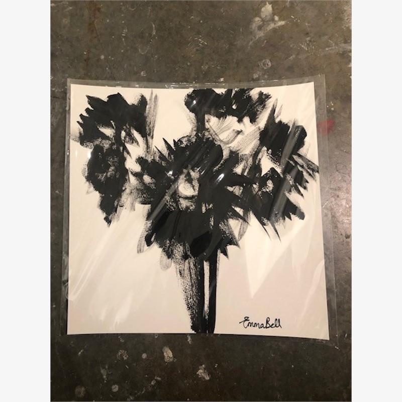 Black & White Sunflowers II, 2018