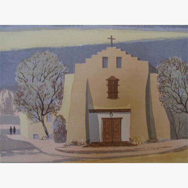 A Santa Fe Church (84/120)