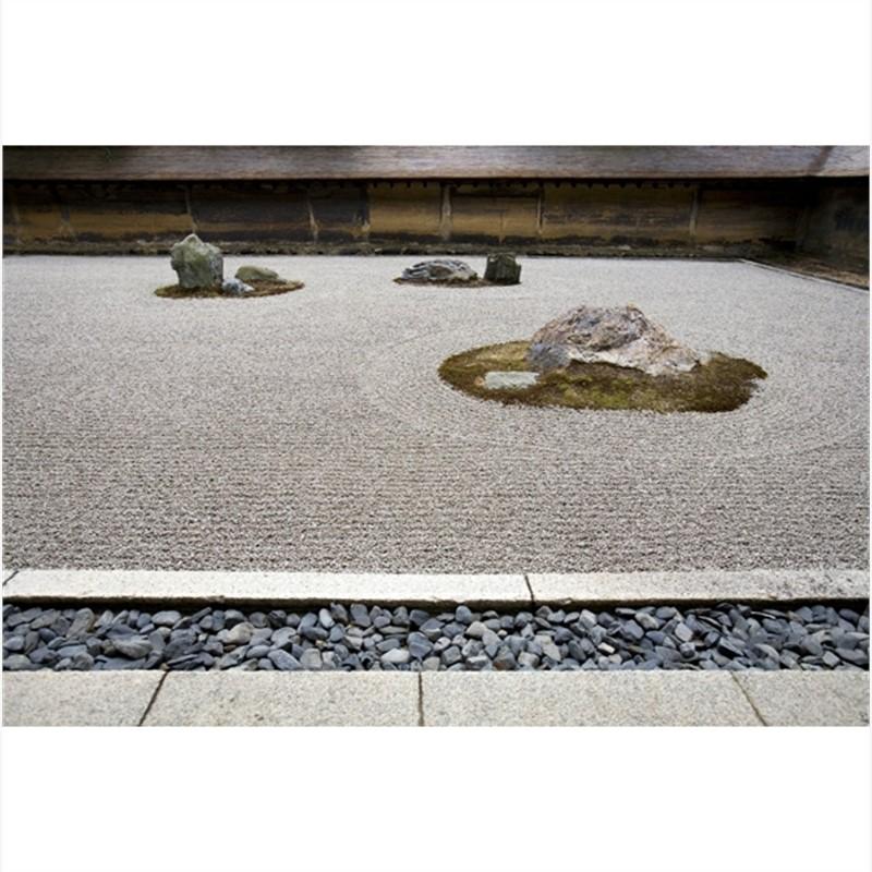 Zen Garden. Ryoan-ji Temple. Kyoto, Japan