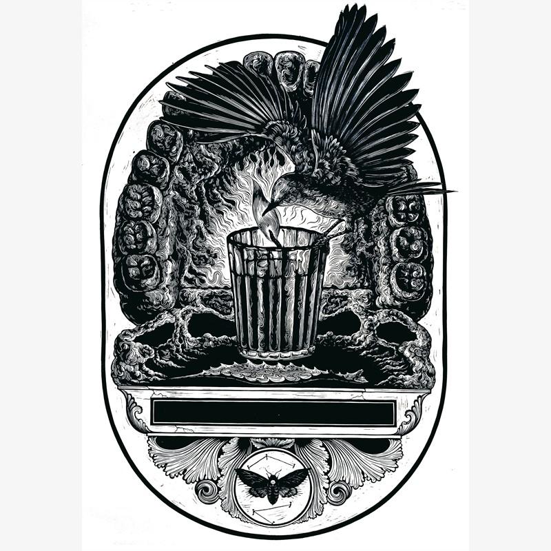 Santuario Postmortem (Framed), 2018