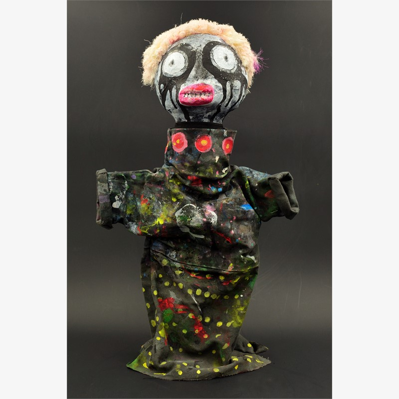 Clown Apocalypse (black #6), 2018