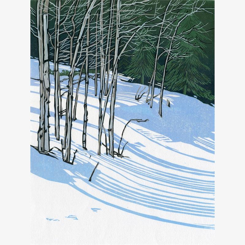 Snow Shadows II (unframed)