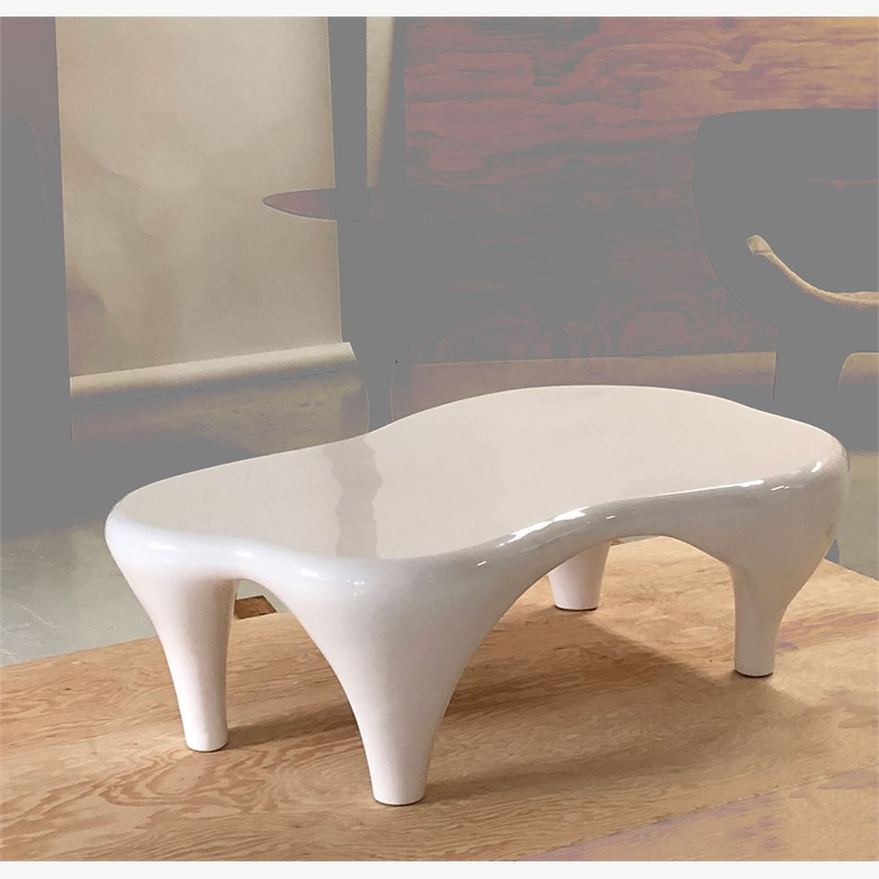 """Toro"" Coffee Table in white, 2019"