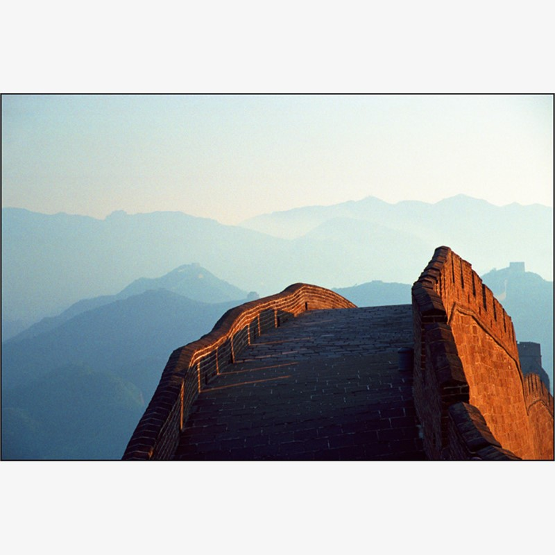 Great Wall at Sunset, 2007