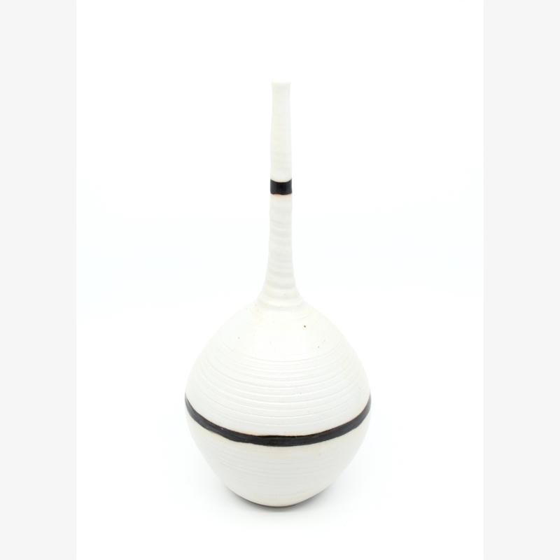 Medium Vase with Black Lines I, 2019