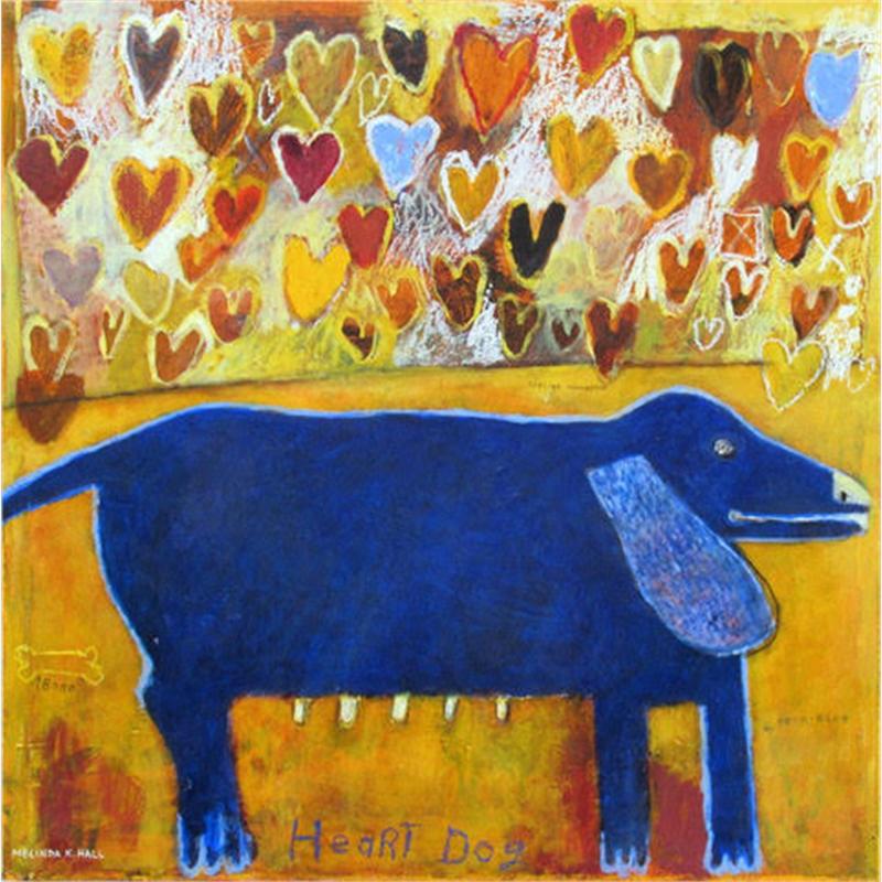 Heart Dog:  True-Blue