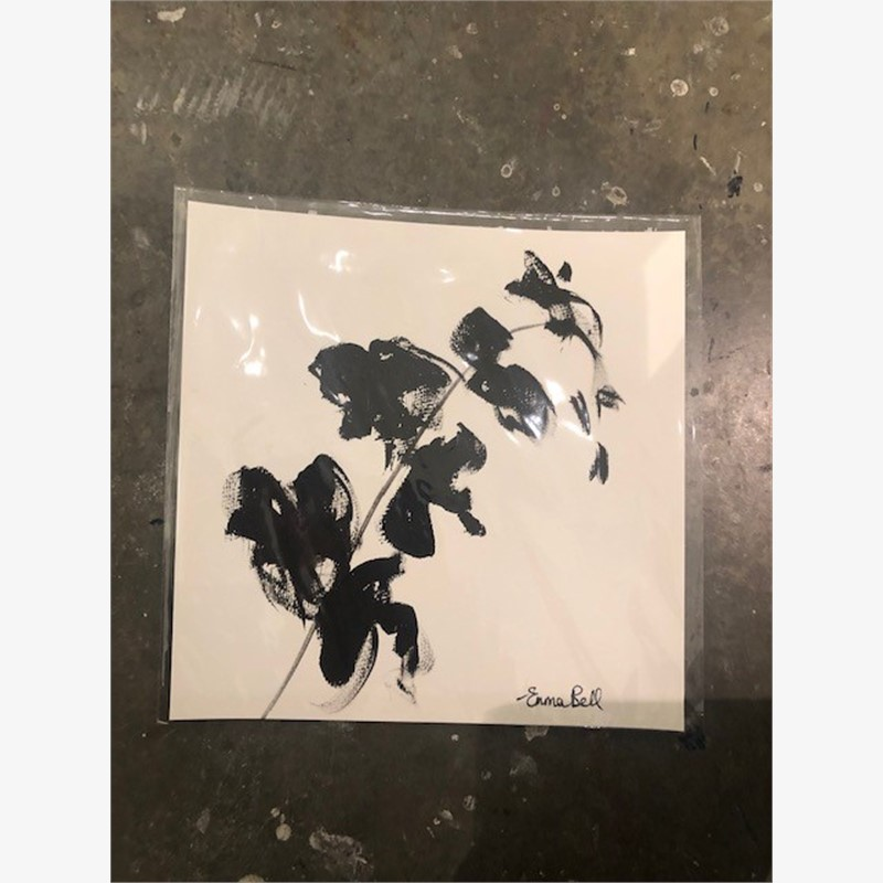 Black & White Orchids III, 2018
