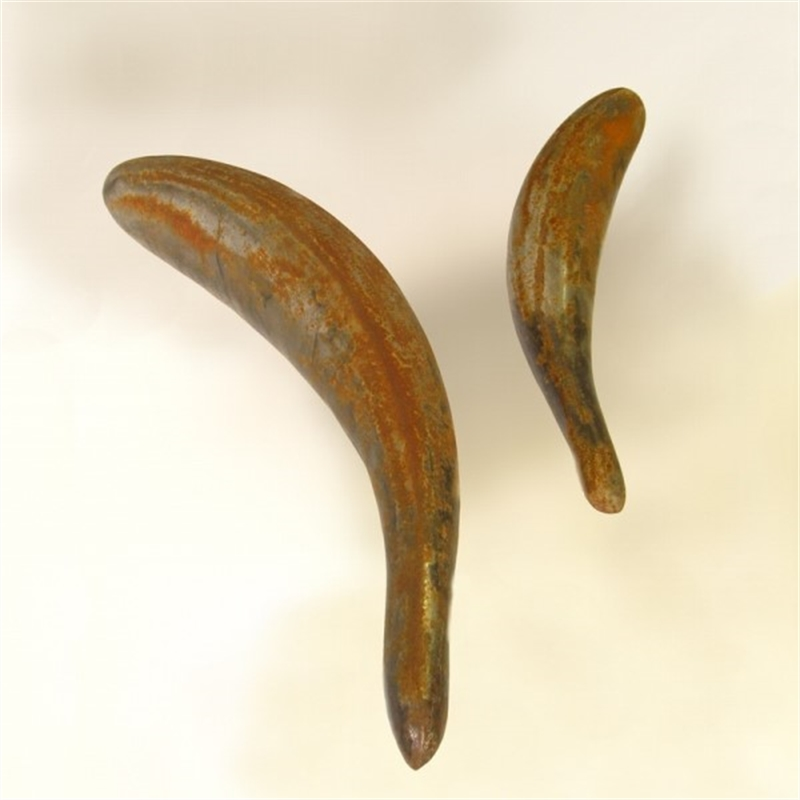 Schooling Fish - Large Rusted Steel
