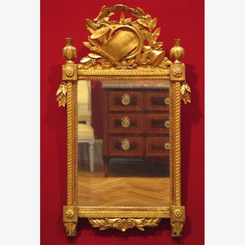 Wall Mirror, Period Louis XVI, circa 1785