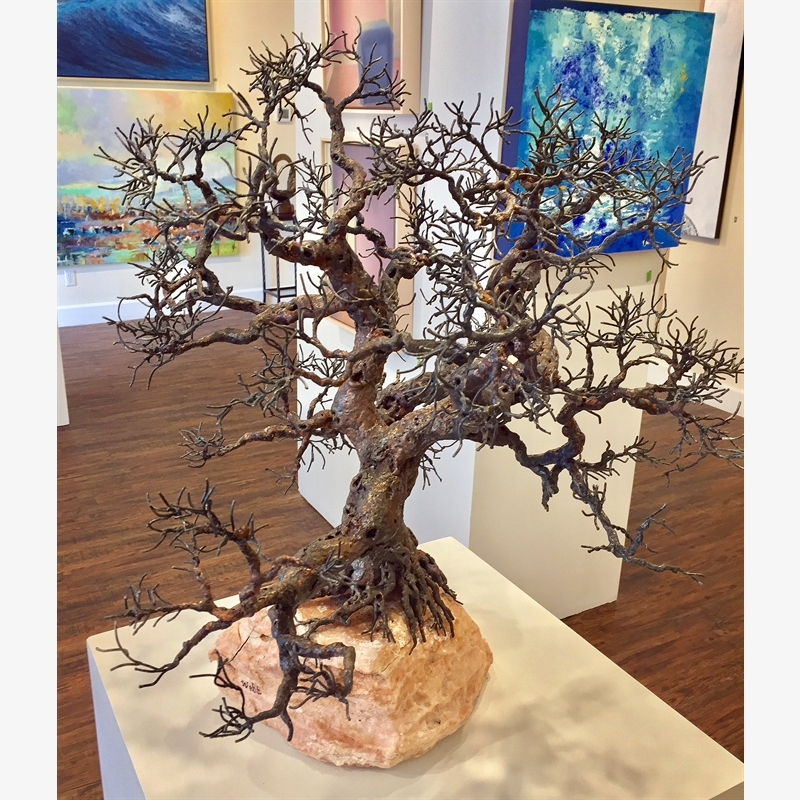 The Lone Oak by Bill Webb