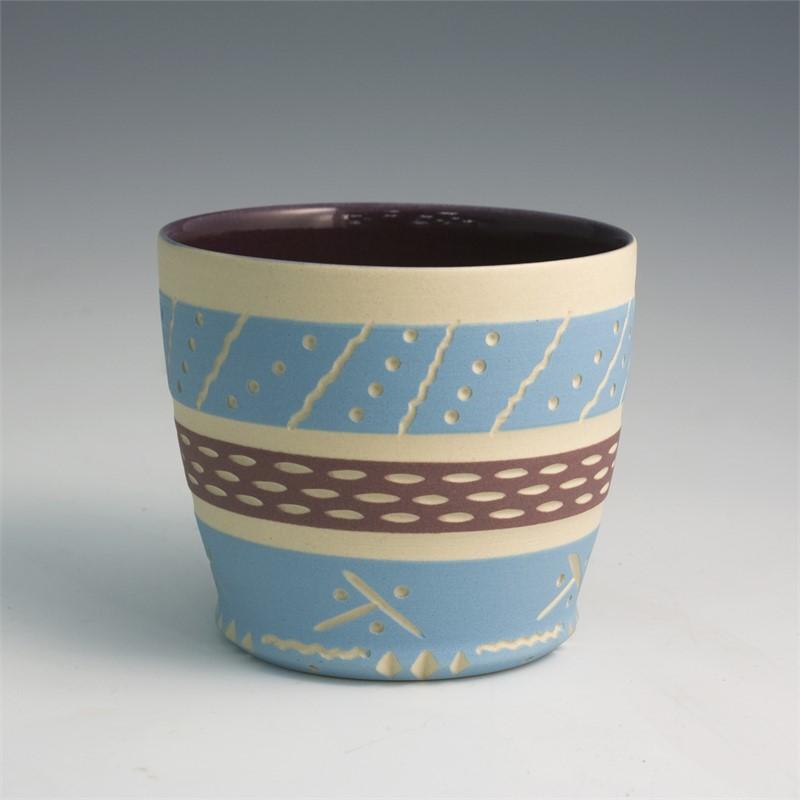 Cup (Purple/Blue), 2019