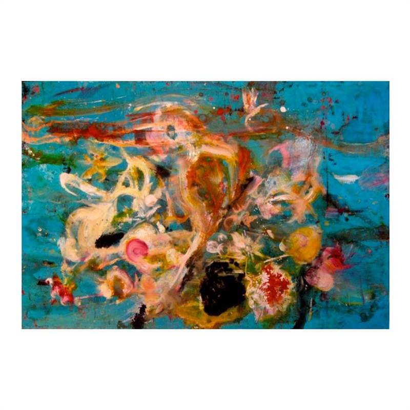 Bouquet with parrots (Rusty Face), 2011